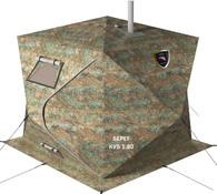 Палатка для зимней рыбалки Берег Куб 1.80 Двухслойный