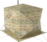 Палатка для зимней рыбалки Берег Куб 2.20 Двухслойный
