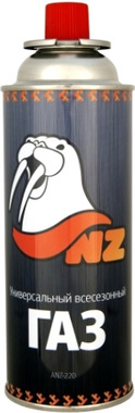 Цанговый газовый баллон NZ 220г