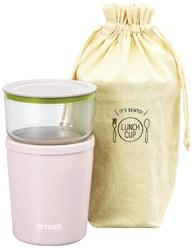 Термос с контейнерами для еды Tiger LCC-A030 Pink