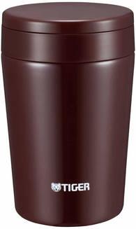 Термоконтейнер для первых или вторых блюд Tiger MCL-A038 Chocolate Brown 0,38л