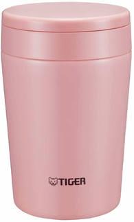 Термоконтейнер для первых или вторых блюд Tiger MCL-A038 Cream Pink 0,38л