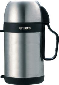 Термос с широким горлом Tiger MCW-P091 Stainless 0,9л