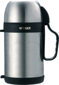Термос с широким горлом Tiger MCW-P091 Stainless 0,9 л