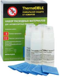 Набор запасной Thermacell (4 газовых картриджа + 12 пластин)
