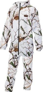 Финский охотничий маскировочный костюм Alaska X-light Snow Camo HD
