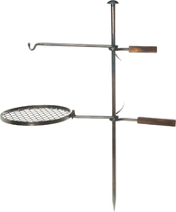 Подставка костровая Mustang Campfire Rack And Hook Set Blacksmith