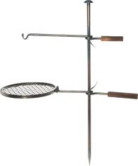 Подставка костровая Mustang Campfire Rack And Hook Set Blacksmith