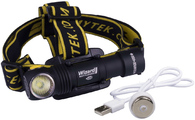 Налобный фонарь Armytek Wizard Pro Magnet USB v3 XHP50 белый свет