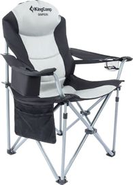 Складное кемпинговое кресло King Camp Delux Steel Arms Chair