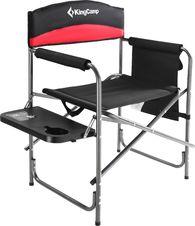 Складное кресло со столиком King Camp Steel Director Chair