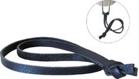 Универсальный серый кожаный шнур для темляков ипетель