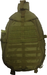 Однолямочный тактический рюкзак Avi-Outdoor Seiland Olive