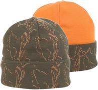Зимняя двухсторонняя шапка Husky Jahti Olive