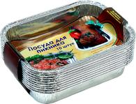 Набор посуды из пищевого алюминия (10 шт.)
