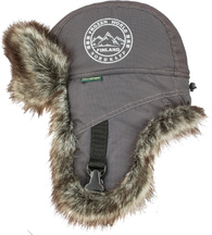 Шапка-ушанка NordKapp Badger MX Dark Grey
