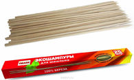 Набор деревянных шампуров Image (25 шт. в коробке)