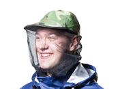 Кепка с антимоскитной сеткой Atom Outdoors Mosquito Army Cap