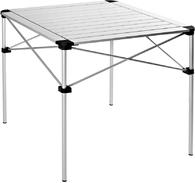 Стол складной King Camp Aluminium Rolling Table