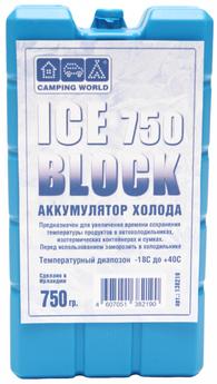 Аккумулятор холода Camping World Iceblock 750