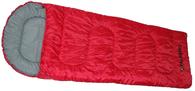 Спальный мешок-одеяло Talberg Camp Red 0°C