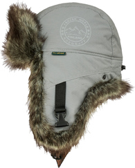 Шапка-ушанка NordKapp Badger MX Light Grey