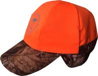 Двухсторонняя кепка-ушанка Nordkapp Seita Reversible Forest/Orange