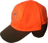 Двухсторонняя кепка-ушанка Nordkapp Seita Reversible Khaki/Orange