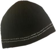 Двухсторонняя светоотражающая шапка NordKapp Reversible Reflection Black