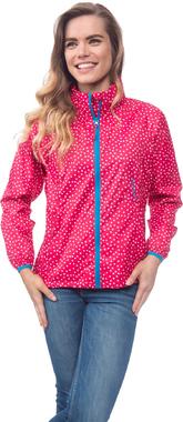 Водонепроницаемая куртка женская Mac in a Sac Elle Dotty Rose