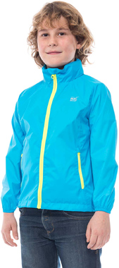 Водонепроницаемая детская куртка Mac in a Sac Neon Mini Blue