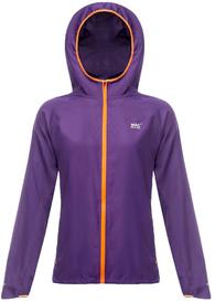 Водонепроницаемая куртка для бега Mac in a Sac Ultra Electric Violet