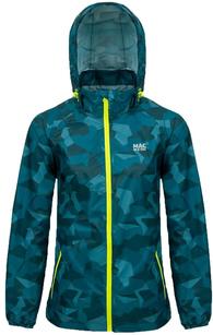 Водонепроницаемая куртка Mac in a Sac Edition Teal Camo