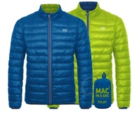 Пуховик двухсторонний Mac in a Sac Polar Down Blue/Lime