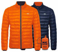 Пуховик двухсторонний Mac in a Sac Polar Down Flame/Navy
