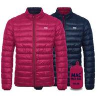 Пуховик двухсторонний Mac in a Sac Polar Down Fuchsia/Navy