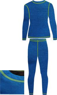 Детское термобелье NordKapp Junior Tutti Turquoise