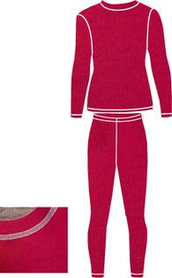 Детское термобелье NordKapp Junior Tutti Fuchsia