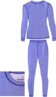 Детское термобелье NordKapp Junior Tutti Lavender