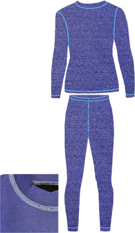 Детское термобелье NordKapp Junior Sampo Purple
