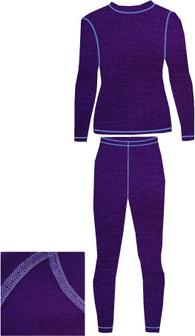 Женское термобелье из шерсти мериноса NordKapp Women Suoma Purple