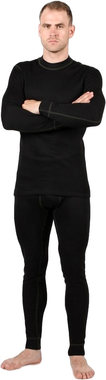 Мужское термобелье из шерсти мериноса NordKapp Men Arctic Black на рост 180–188