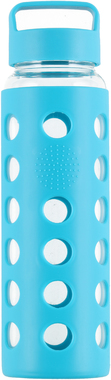 Бутылка спортивная Atom Sports Silicone Cover Glass Bottle