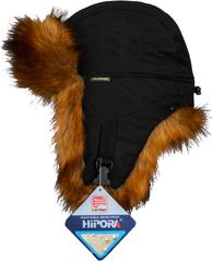 Шапка-ушанка NordKapp Fox Black