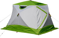 Зимняя палатка Лотос Куб 4 Компакт Лонг Термо с дном