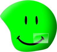 Нашлемник Coolcasc Foggy Smile