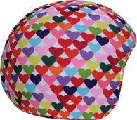 Нашлемник Coolcasc Colour Hearts