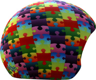 Нашлемник Coolcasc Colour Puzzle