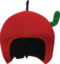 Нашлемник Coolcasc Apple with Worm