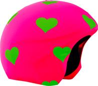 Нашлемник Coolcasc Foggy Hearts